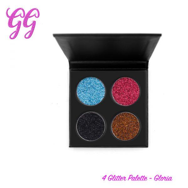 4 Glitter Palette - Gloria