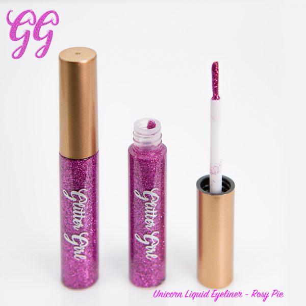 Glitter Girl Unicorn Liquid Eyeliner - Rosy Pie