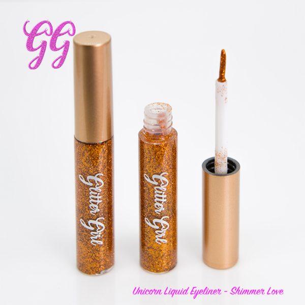 Glitter Girl Unicorn Liquid Eyeliner - Shimmer Love