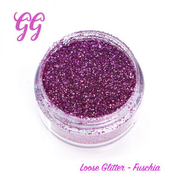 Loose Glitter - Fuschia