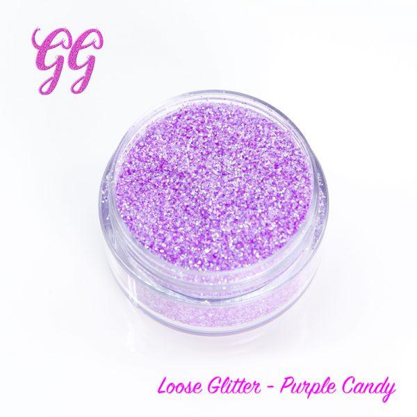 Loose Glitter - Purple Candy