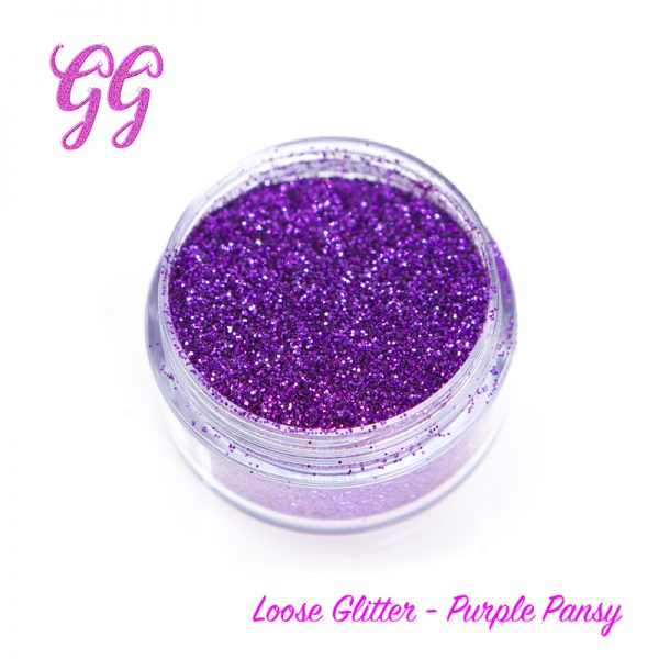 Loose Glitter - Purple Pansy