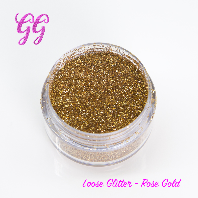 Loose Glitter - Rose Gold