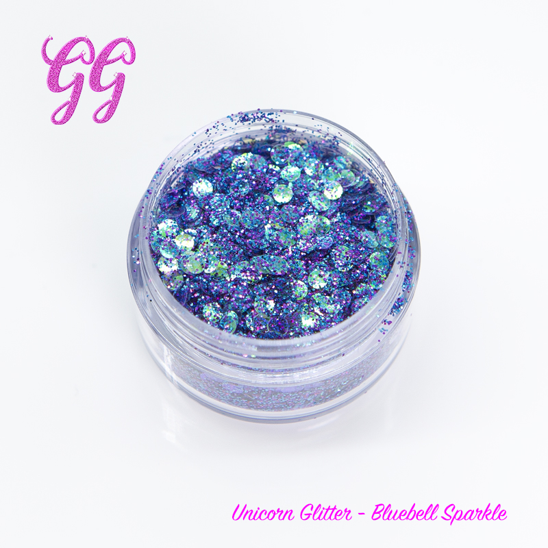Unicorn Glitter - Bluebell Sparkle #8