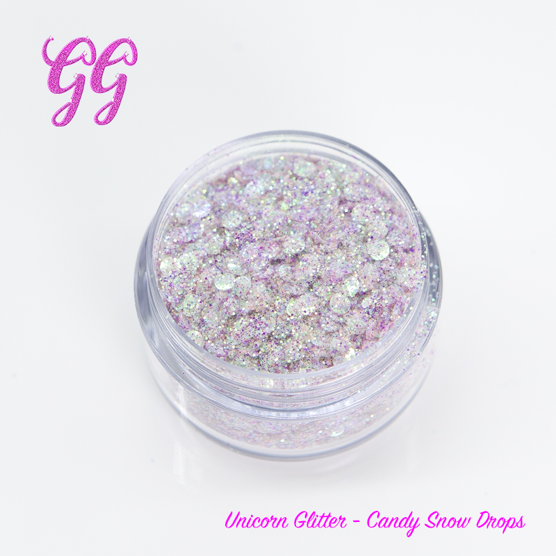 Unicorn Glitter - Candy Snow Drops loose #11