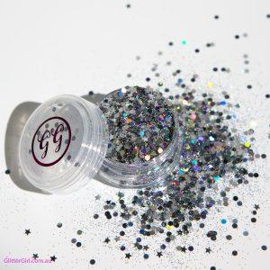 Disco Nap Glitter girl Festival glitter