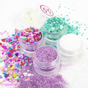 spring collection glitter girl loose glitter