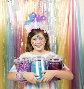 Sophia Rizzo, 10, launches her own business Glitter Girl selling GLITTER