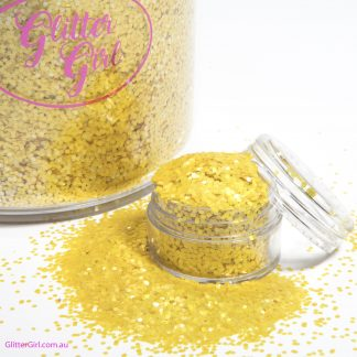 Glitter Girl Loose Glitter Banana Yellow