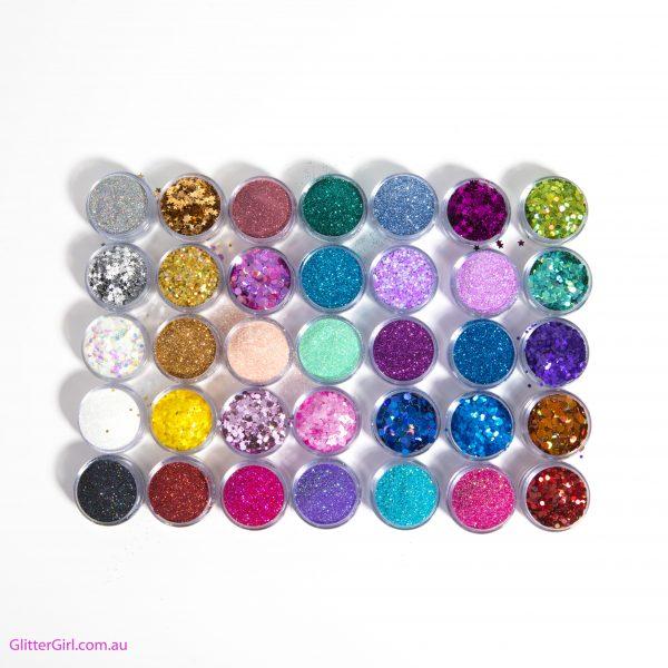Glitter Girl base loose glitter Collection