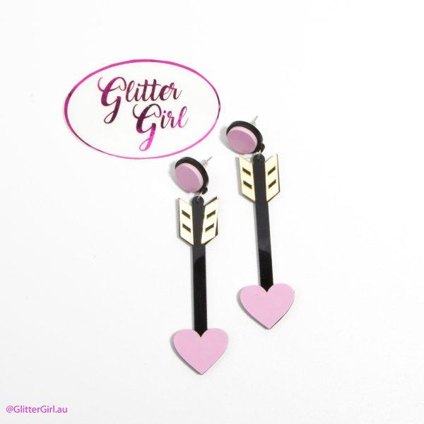 Glitter Girl Jewellery GG Arrow Earrings