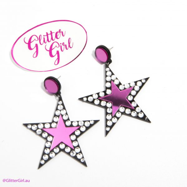 GG Earrings Lucky Star