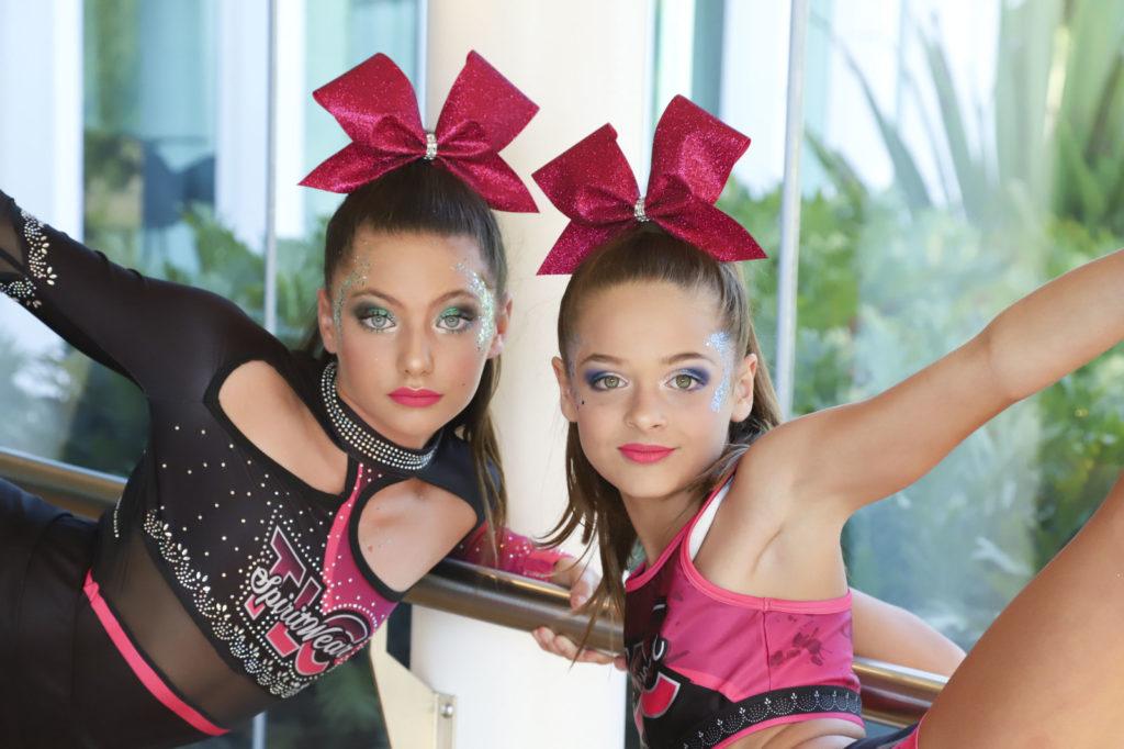 cheerleading hair bow