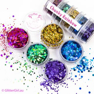 Chunky Rainbow Collection Eco Glitter Glitter Girl Loose Glitter