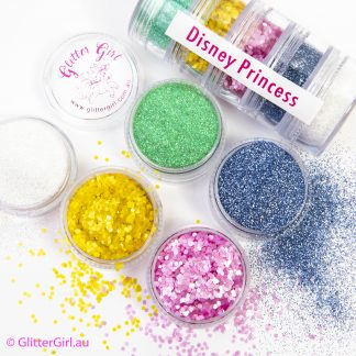 Disney Princess Collection Eco Glitter Glitter Girl Loose Glitter